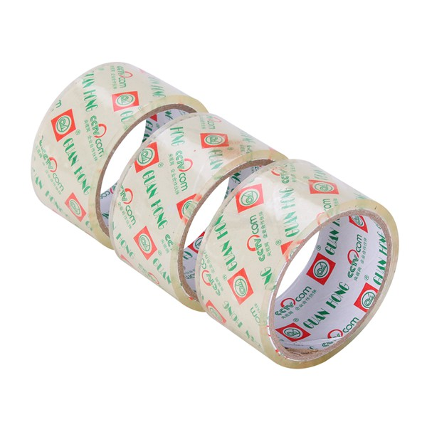 Crystal Super Clear Adhesive Tape with Customized Logo on Core